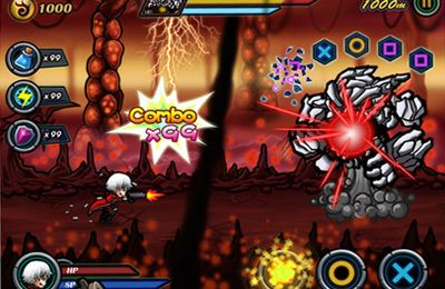 Screenshots vom Spiel Devil Hunter I für iPhone, iPad oder iPod.