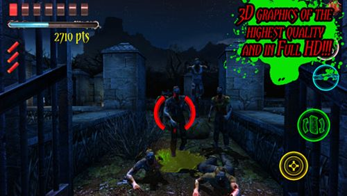 Screenshots vom Spiel Devil slayer: Gunman für iPhone, iPad oder iPod.