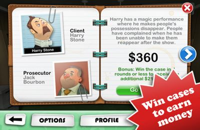 Download Devil's Attorney iPhone free game.