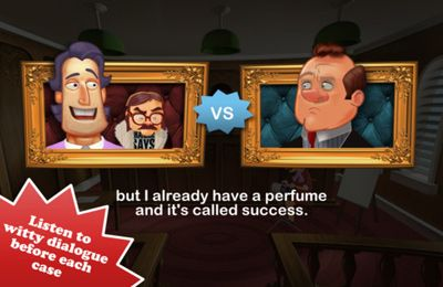 Écrans du jeu Devil's Attorney pour iPhone, iPad ou iPod.