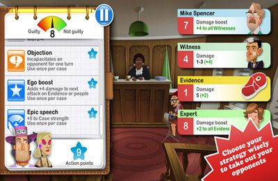 Capturas de pantalla del juego Devil's Attorney para iPhone, iPad o iPod.