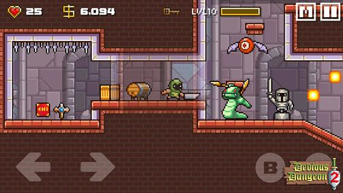 Screenshots of the Devious dungeon 2 game for iPhone, iPad or iPod.