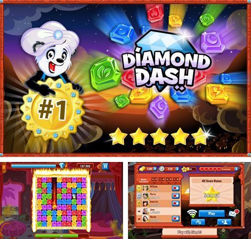 In addition to the game Zombies: Dead in 20 for iPhone, iPad or iPod, you can also download Diamond dash for free.