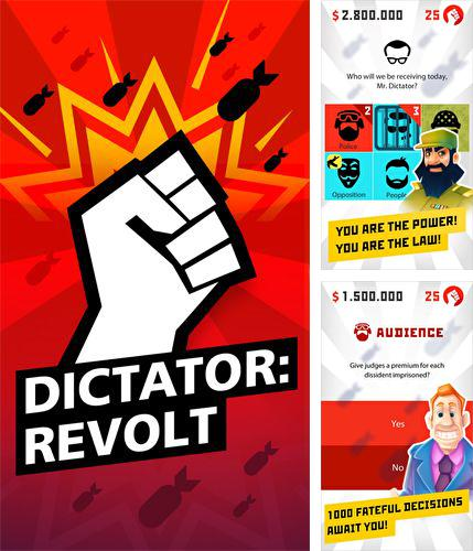 In addition to the game Cartoon Defense 2 for iPhone, iPad or iPod, you can also download Dictator: Revolt for free.
