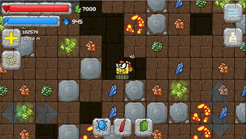 Download Digger machine: Dig and find minerals iPhone free game.