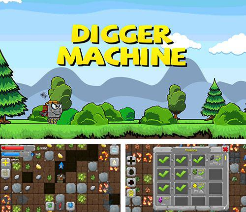 In addition to the game Zombie Commando for iPhone, iPad or iPod, you can also download Digger machine: Dig and find minerals for free.