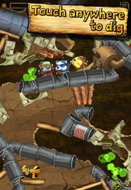 Screenshots of the Diggin' Dogs game for iPhone, iPad or iPod.