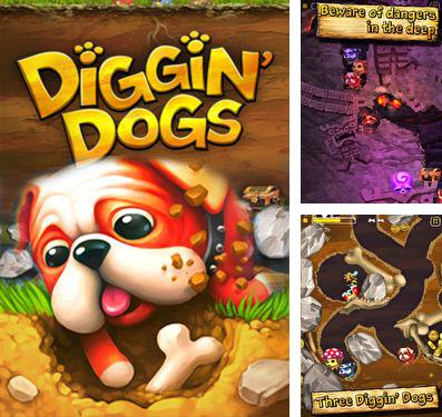 In addition to the game Cut the Rope Holiday Gift for iPhone, iPad or iPod, you can also download Diggin' Dogs for free.
