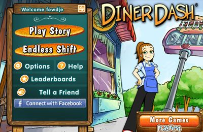 Download Diner Dash Deluxe iPhone free game.