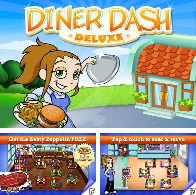 In addition to the game The lost lands: Dinosaur hunter for iPhone, iPad or iPod, you can also download Diner Dash Deluxe for free.