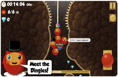 Free Dingle Dangle download for iPhone, iPad and iPod.