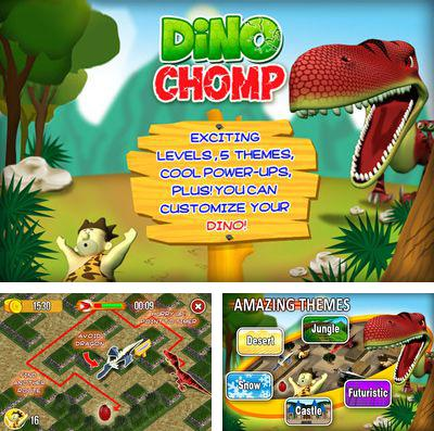 In addition to the game Hammy go round for iPhone, iPad or iPod, you can also download Dino Chomp for free.