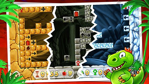 Screenshots do jogo Dino rocks para iPhone, iPad ou iPod.