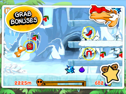 Screenshots do jogo Dino rush para iPhone, iPad ou iPod.
