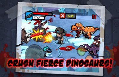 Screenshots do jogo DinoCap 3 Survivors para iPhone, iPad ou iPod.