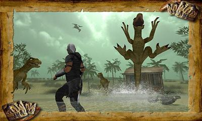 Screenshots of the Dinosaur Assassin Pro game for iPhone, iPad or iPod.