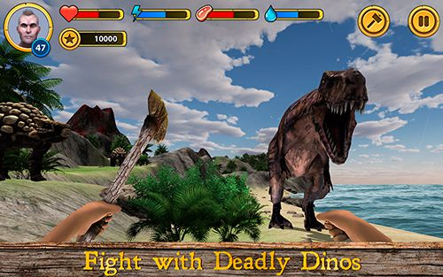 Descarga gratuita de Dinosaur island survival para iPhone, iPad y iPod.