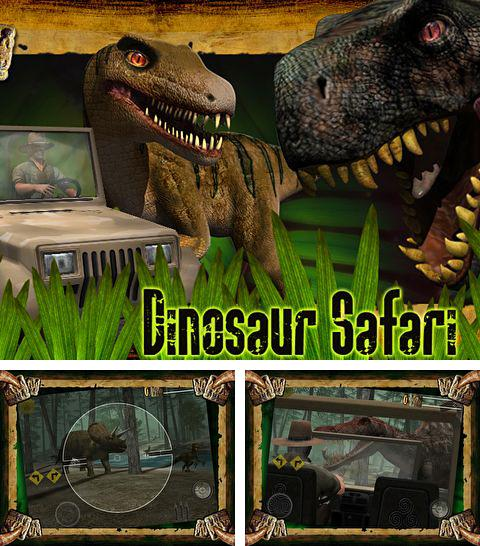 In addition to the game Alien Hive for iPhone, iPad or iPod, you can also download Dinosaur safari for free.