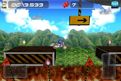 Descarga gratuita del juego Moto cross imposible para iPhone.