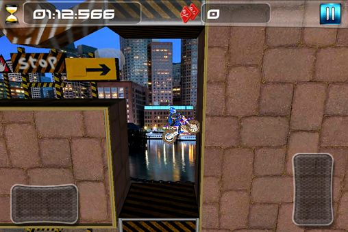 Capturas de pantalla del juego Dirt bike impossible para iPhone, iPad o iPod.