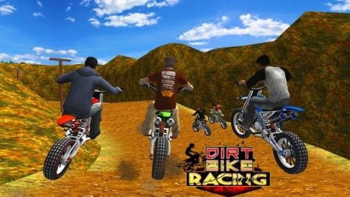 Screenshots of the Dirt Bike Racing game for iPhone, iPad or iPod.