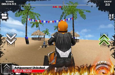 iPhone、iPad 或 iPod 版Dirt Moto Racing游戏截图。