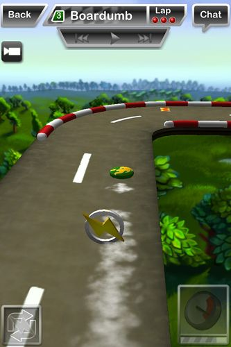 Capturas de pantalla del juego Disc drivin' para iPhone, iPad o iPod.