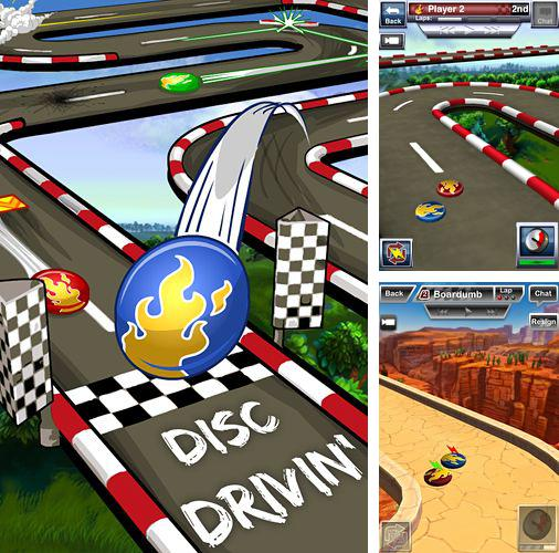 In addition to the game Rival knights for iPhone, iPad or iPod, you can also download Disc drivin' for free.