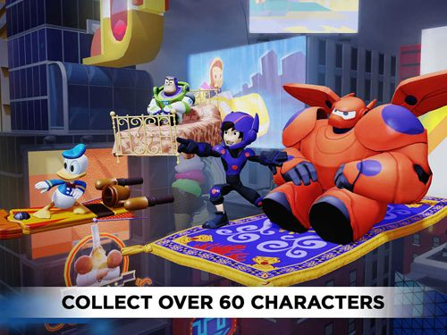 Screenshots do jogo Disney infinity: Toy box para iPhone, iPad ou iPod.