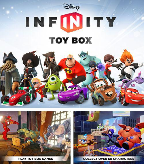 In addition to the game Apart of me for iPhone, iPad or iPod, you can also download Disney infinity: Toy box for free.