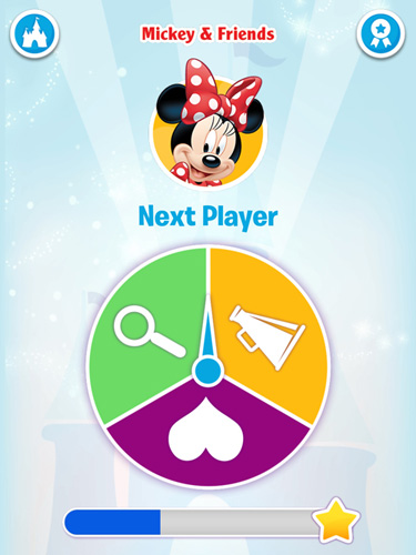 Capturas de pantalla del juego Disney: Shout! para iPhone, iPad o iPod.
