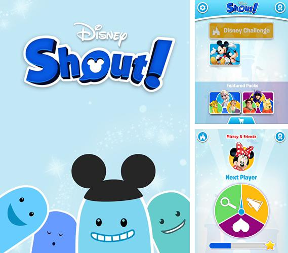 In addition to the game Reiner Knizia's Kaleidoscope for iPhone, iPad or iPod, you can also download Disney: Shout! for free.