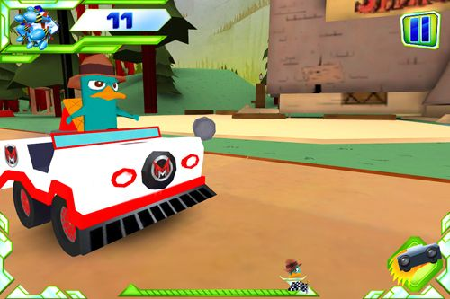 Screenshots of the Disney: XD Grand prix game for iPhone, iPad or iPod.