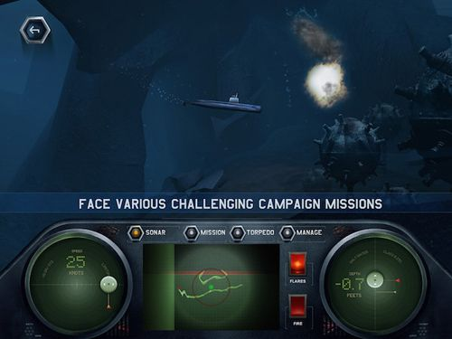 Скачать Dive for honour: Cold war на iPhone бесплатно