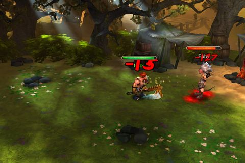 Screenshots vom Spiel Divine might für iPhone, iPad oder iPod.