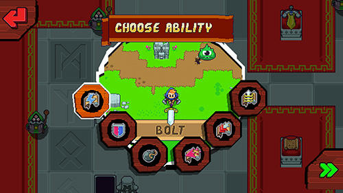 Screenshots of the Dizzy knight game for iPhone, iPad or iPod.