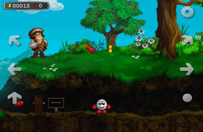 Screenshots vom Spiel Dizzy - Prince of the Yolkfolk für iPhone, iPad oder iPod.