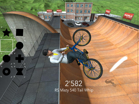 Screenshots of the DMBX 2.5 - Mountain Bike and BMX game for iPhone, iPad or iPod.