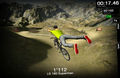 Kostenloser Download von DMBX 2 - Mountain Bike and BMX für iPhone, iPad und iPod.