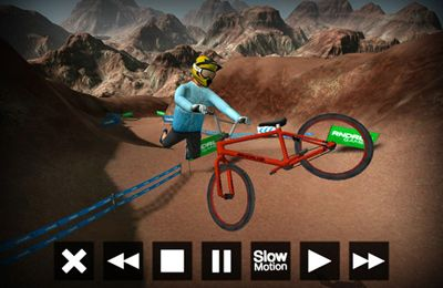 Screenshots vom Spiel DMBX 2 - Mountain Bike and BMX für iPhone, iPad oder iPod.