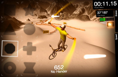 Screenshots of the DMBX 2 - Mountain Bike and BMX game for iPhone, iPad or iPod.