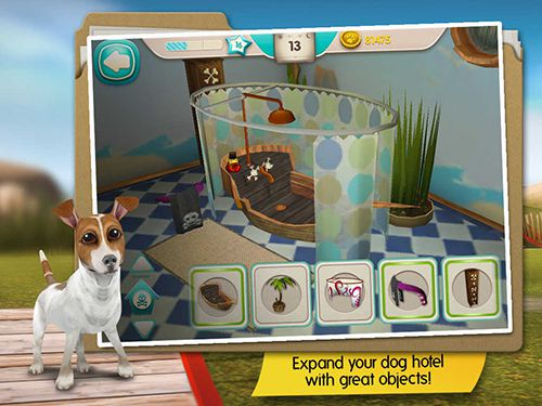 Free Dog hotel download for iPhone, iPad and iPod.