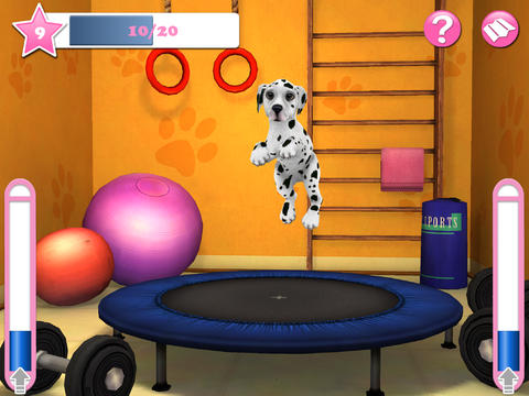 Screenshots of the Dog world 3D: My dalmatian game for iPhone, iPad or iPod.