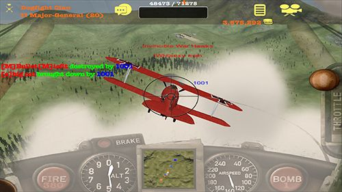 Download Dogfight elite iPhone free game.