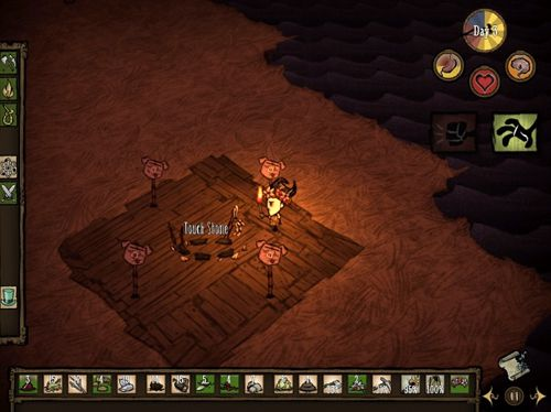 Descarga gratuita de Don't starve: Pocket edition para iPhone, iPad y iPod.