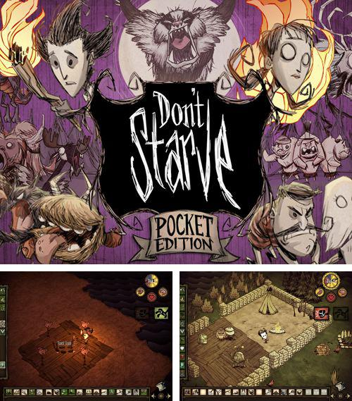 In addition to the game Touch zombie for iPhone, iPad or iPod, you can also download Don't starve: Pocket edition for free.