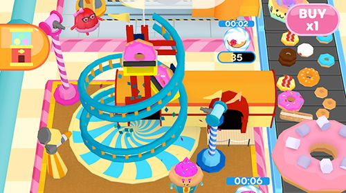 Screenshots do jogo Donuts inc. para iPhone, iPad ou iPod.