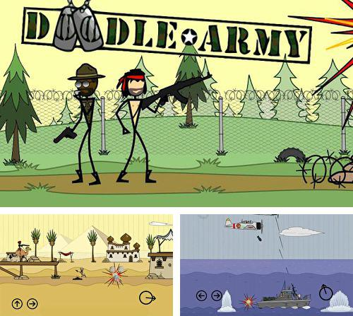 In addition to the game Moto Racing Fever for iPhone, iPad or iPod, you can also download Doodle army for free.