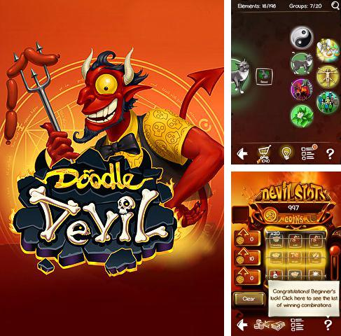 In addition to the game Doodle devil for iPhone Xr, you can download Doodle devil for iPhone, iPad, iPod for free.