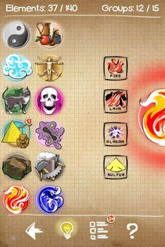 Capturas de pantalla del juego Doodle God para iPhone, iPad o iPod.